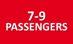 Car rentals for 7-9 passengers