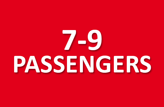 7-9 passengers