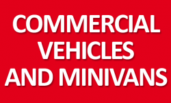 Commercial vehicles and minivans