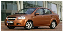 Chevrolet Aveo - car for rent