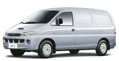Commercial Hyundai H-1 - car for rent