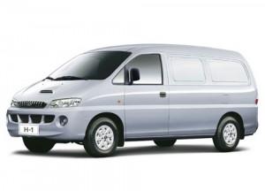 יונדאי H-1 ארוך למשא - רכב מסחרי להשכרה